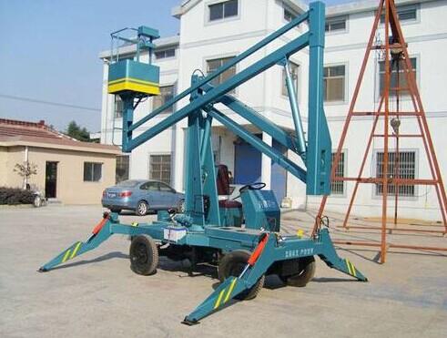 升降机械有限公司就为大家介绍一下曲臂式升降机如何